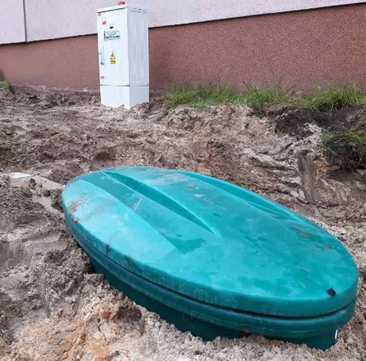 Видимая часть автономной канализации