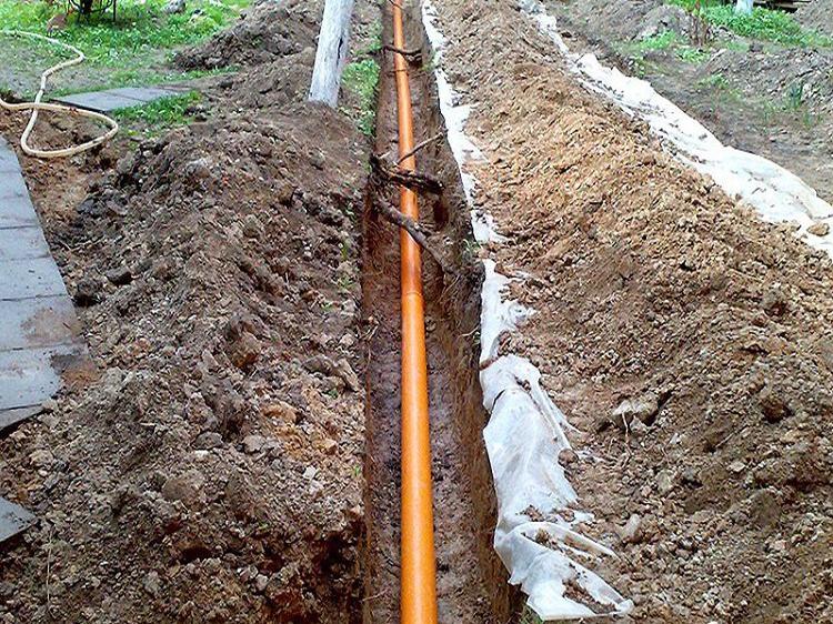 Схема канализации размещение