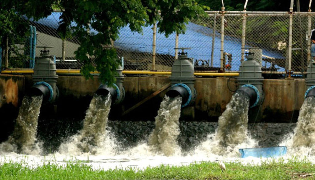 сточные воды канализации