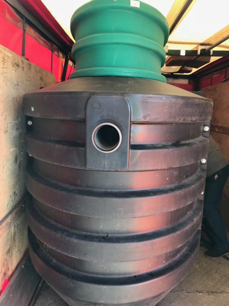 Резервуар для септиков