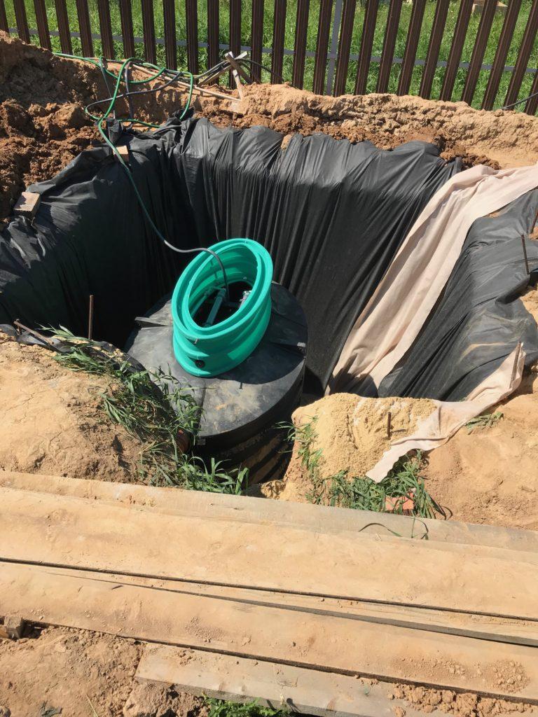 Септик канализация для дома
