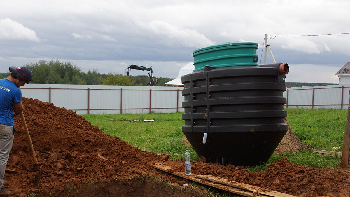 Подготовка к установке автономной канализации